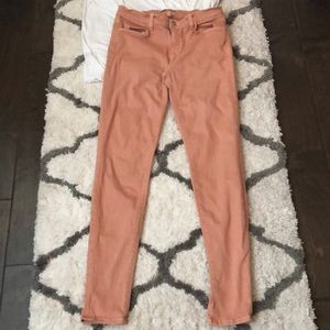J Brand peach jeans size 29